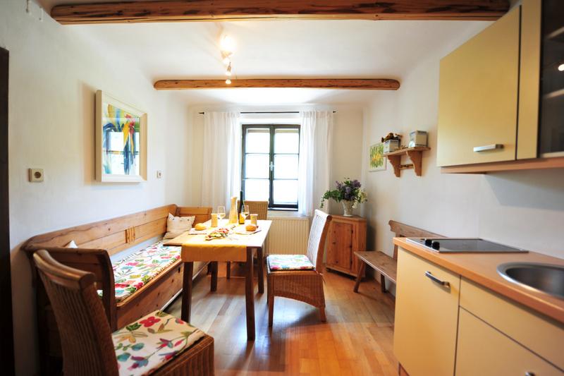 Donaublick Küche