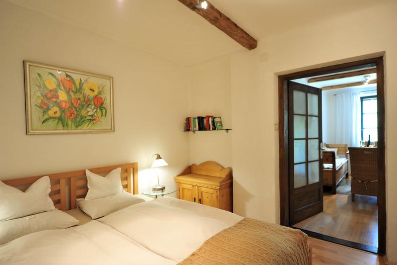 Donaublick Schlafzimmer