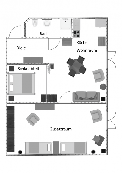 Grundriss Weinbergblick